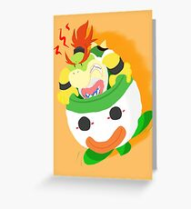 Bowser Jr. Greeting Card