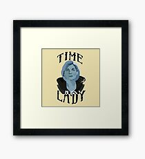 Doctor Who-Thirteen: Some of Us Can Afford the Upgrade Framed Print