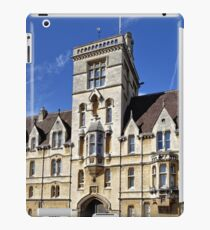 Balliol College, Broad Street, Oxford, England. iPad Case/Skin