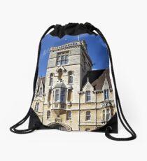 Balliol College, Broad Street, Oxford, England. Drawstring Bag