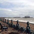 Brighton Storm Damage by Sue Robinson