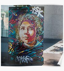 C215 - Portrait - Paris 2017 Poster