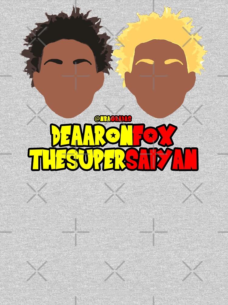 De'Aaron Fox, the Super Saiyan by nbagradas