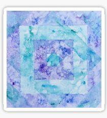Watercolor Pattern Block  Sticker