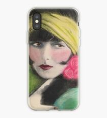 Louise Brooks 1920s Hollywood Flapper Celebrity iPhone Case