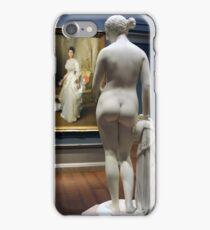 Greek Slave Naked Before Elegant Lady iPhone Case/Skin