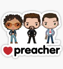 Love Preacher - Tulip, Jesse & Cassidy Sticker