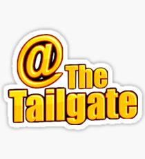 At the Tailgate Sports Blog Official Sticker Sticker