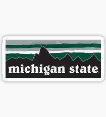 Michigan State Sticker