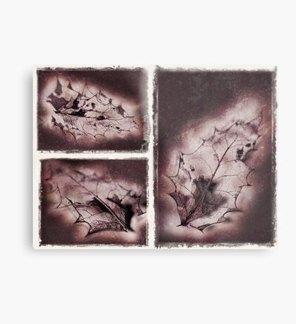 And so Autumn Died Metal Print