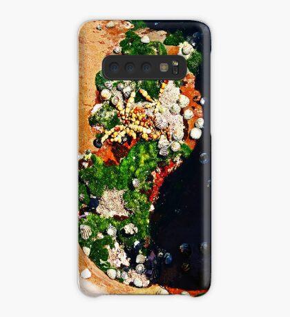 Muscheln und Moos Hülle & Klebefolie für Samsung Galaxy