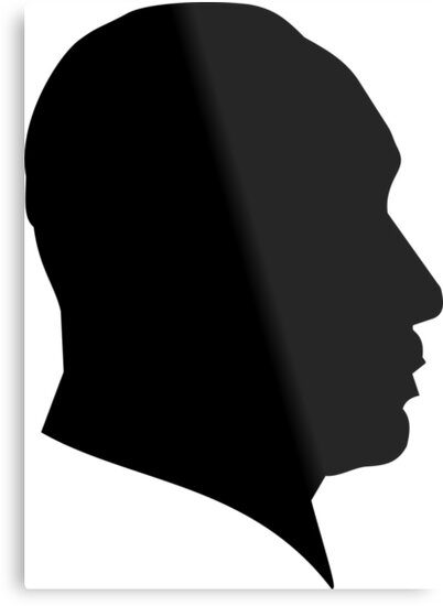 Dr Martin Luther King Jr Silhouette Metal Prints By Motion45