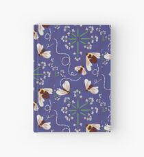 Busy Busy - a Summer Bee with Queens Lace Hardcover Journal