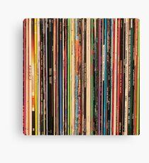 Classic Alternative Rock Records Leinwanddruck