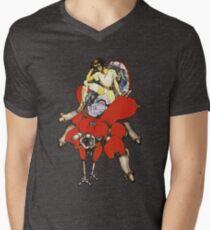 Major on Fuchikoma Men's V-Neck T-Shirt
