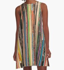 Classic Alternative Rock Records A-Line Dress