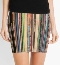 Classic Alternative Rock Records Mini Skirt