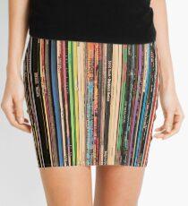 Classic Alternative Rock Records Mini Skirt