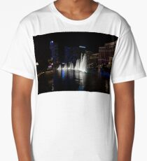 The Midnight Show - Bellagio and Cosmopolitan Plus the Famous Fountains Long T-Shirt