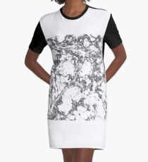 The Macro Universe Filament Graphic T-Shirt Dress