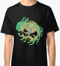 Mythical, forest, green dragon Classic T-Shirt