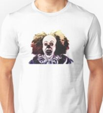 Pennywise the clown (Cross-hatched Pastel) T-Shirt