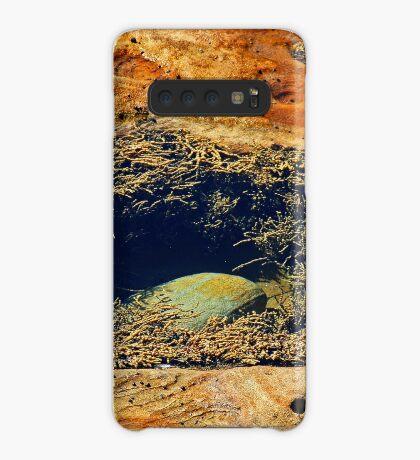 Rock & Algen Hülle & Klebefolie für Samsung Galaxy