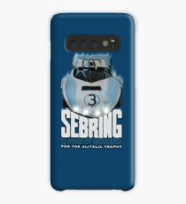 Vintage Sebring endurance poster recreated by MotorManiac Case/Skin for Samsung Galaxy