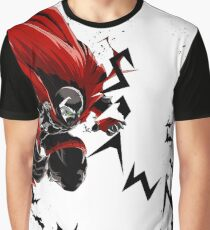 Spawn Sublime White Graphic T-Shirt