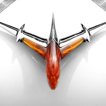 1955 Pontiac hood ornament by mal-photography