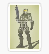 Master Chief - Our Duty Sticker