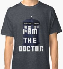 Doctor Who - I am the Doctor tardis Classic T-Shirt