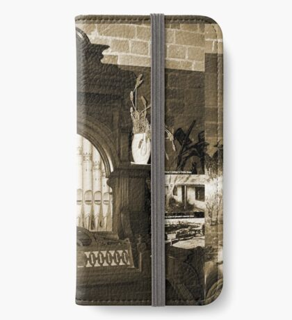 Alte Pfeifenorgel iPhone Flip-Case