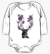 The Stag and Roses One Piece - Long Sleeve