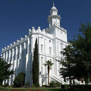 St. George Temple by SunriseRose