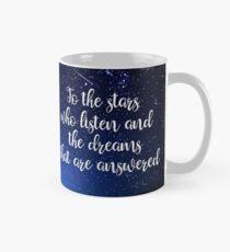 Stars, die zuhören Tasse (Standard)