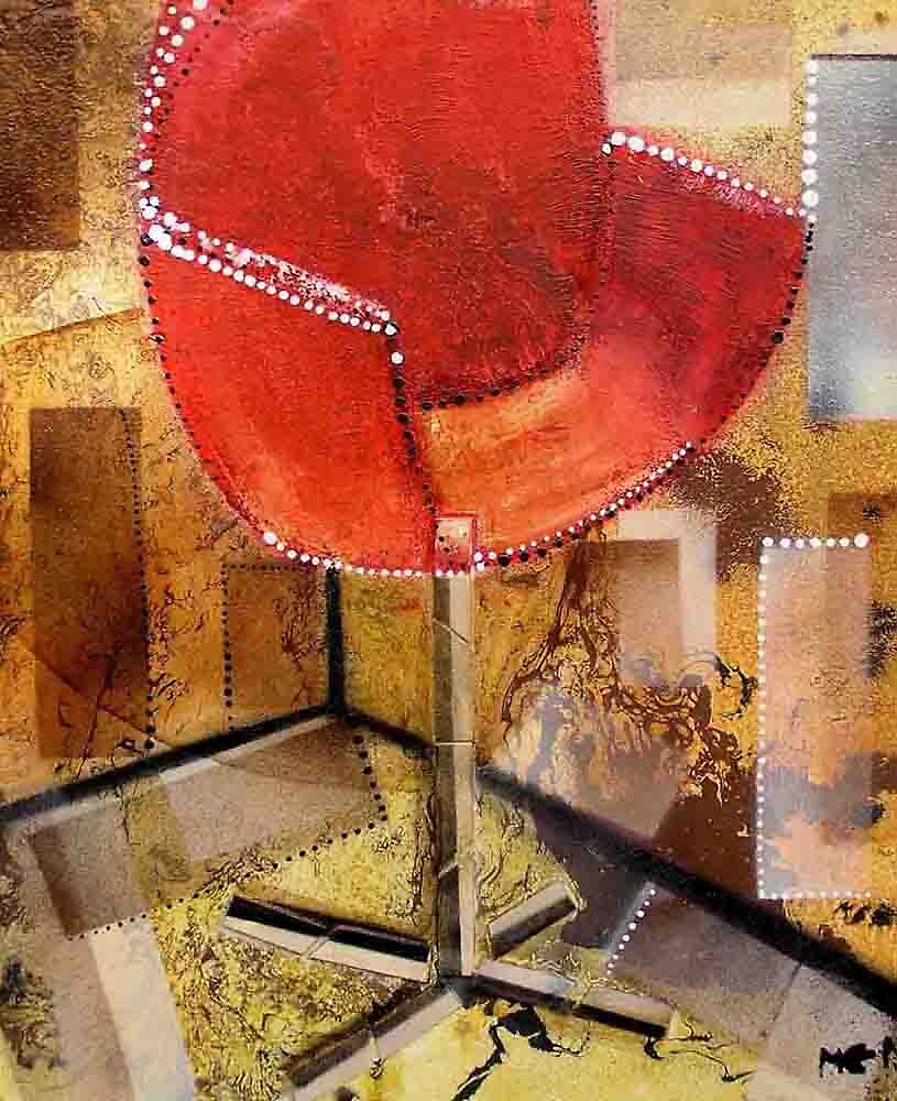 red chair by Evguenia  Men