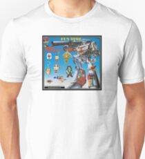 ROBOT TOY VENDING MACHINE DISPLAY CARD T-Shirt
