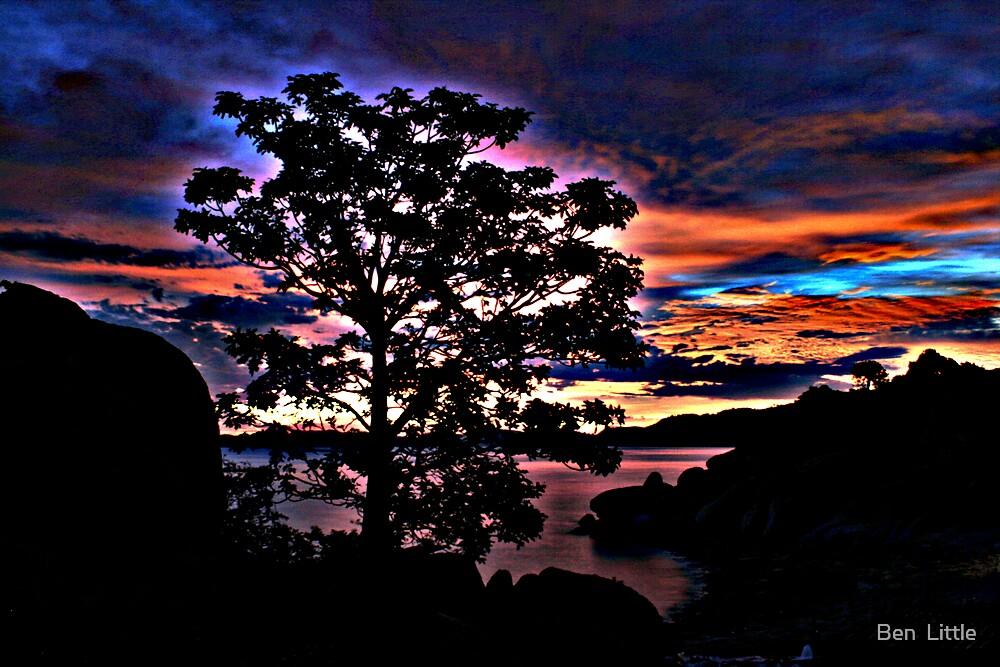 Boab Sunrise by Ben  Little