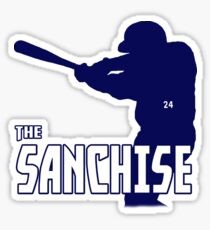 Gary Sanchez Tribute Design (Assorted Products) Sticker