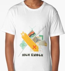 High Enough Retro art Long T-Shirt