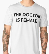 The Doctor is Female Men's Premium T-Shirt