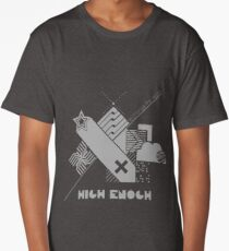 High Enough Monochrome Long T-Shirt