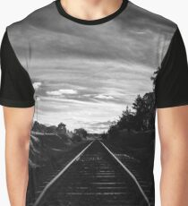 Main North Line from Barleyfields Crossing, Uralla Graphic T-Shirt