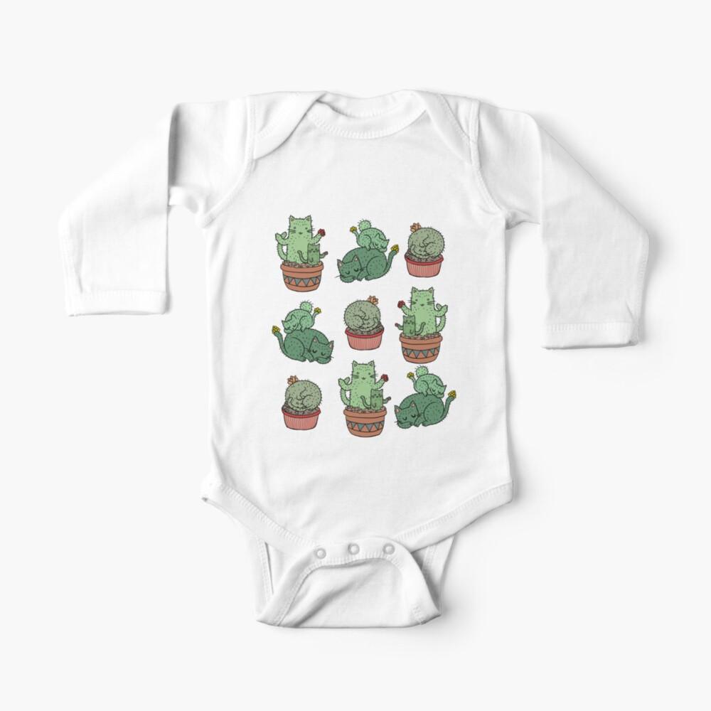 Cactus Cats Baby One-Piece