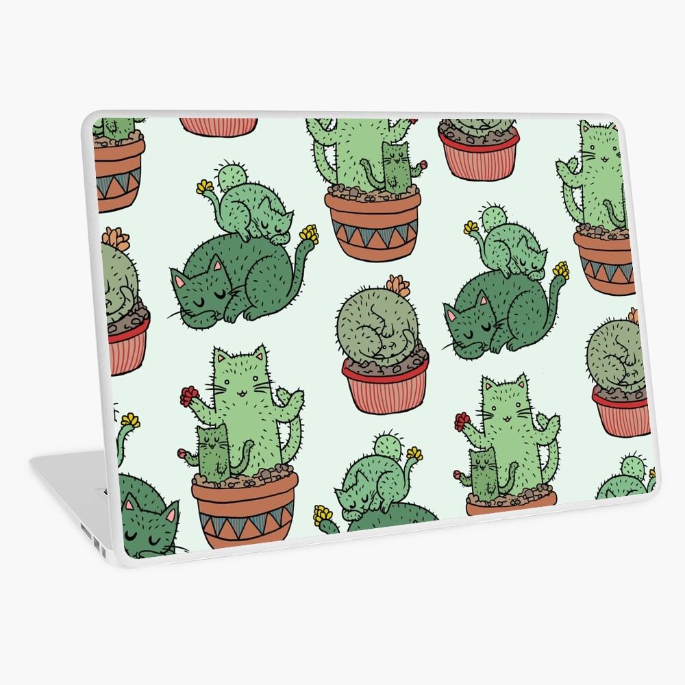Cactus Cats Laptop Skin