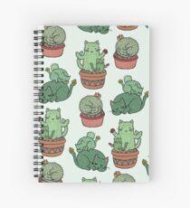 Kaktus Katzen Spiralblock
