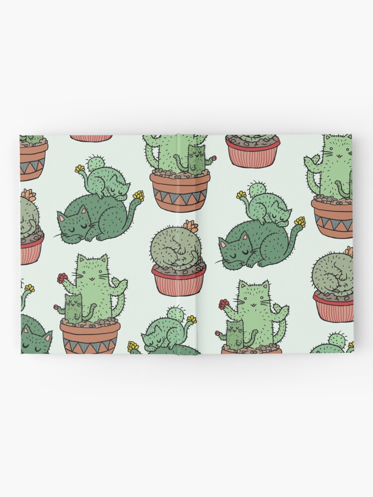 Alternate view of Cactus Cats Hardcover Journal