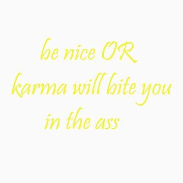 Nice Karma (yellow) by CrazyDimension