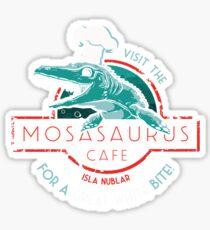 Visit the Mosasaurus Cafe Sticker